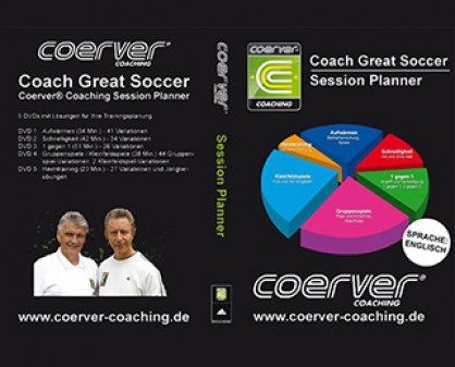 "Coerver-DVD: ""Session Planner"""