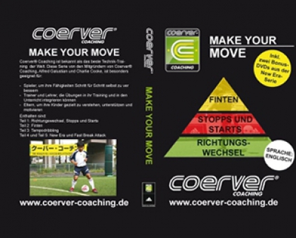 "Coerver-DVD: ""Make Your Move"""