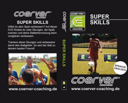 "Coerver-DVD: ""Super Skills"""